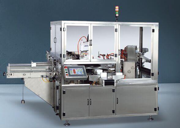 軟安瓶裝盒機-高性價口服液立式上開蓋裝盒機,海拓機械傾力推薦