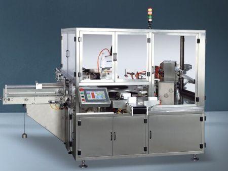 山东口服液立式装盒机-温州哪里有售卖口服液立式上开盖装盒机