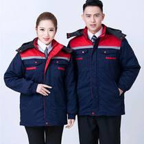 棉夾克定制_陜西優良的冬季工作服