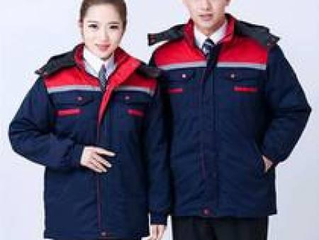 冬季保安工作服批发-陕西专业的冬季工作服供应商