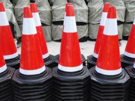 橡膠路錐-路發交通-專業的慶陽路錐經銷商