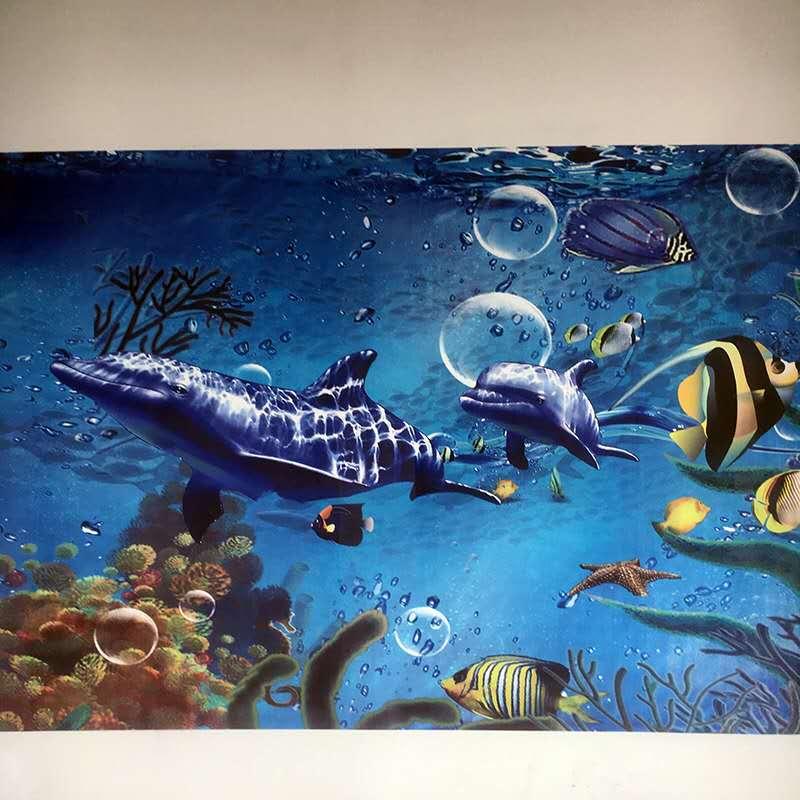 大型智能3d墙体彩绘机室内户外5d立体背景墙喷绘机绘画打印机