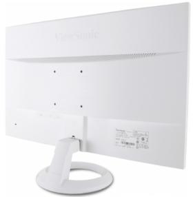文山優派21.5寸白色顯示器