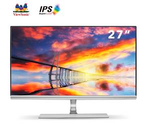27寸窄邊框專業辦公設計電腦監控顯示屏