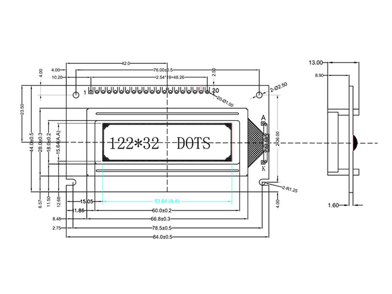 工业点阵屏,供应具有口碑的12232液晶模组