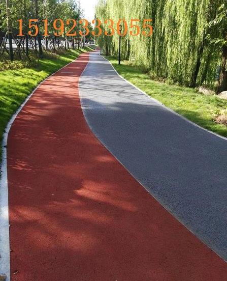 湖南郴州彩色路面喷涂剂美化翻新小区路面