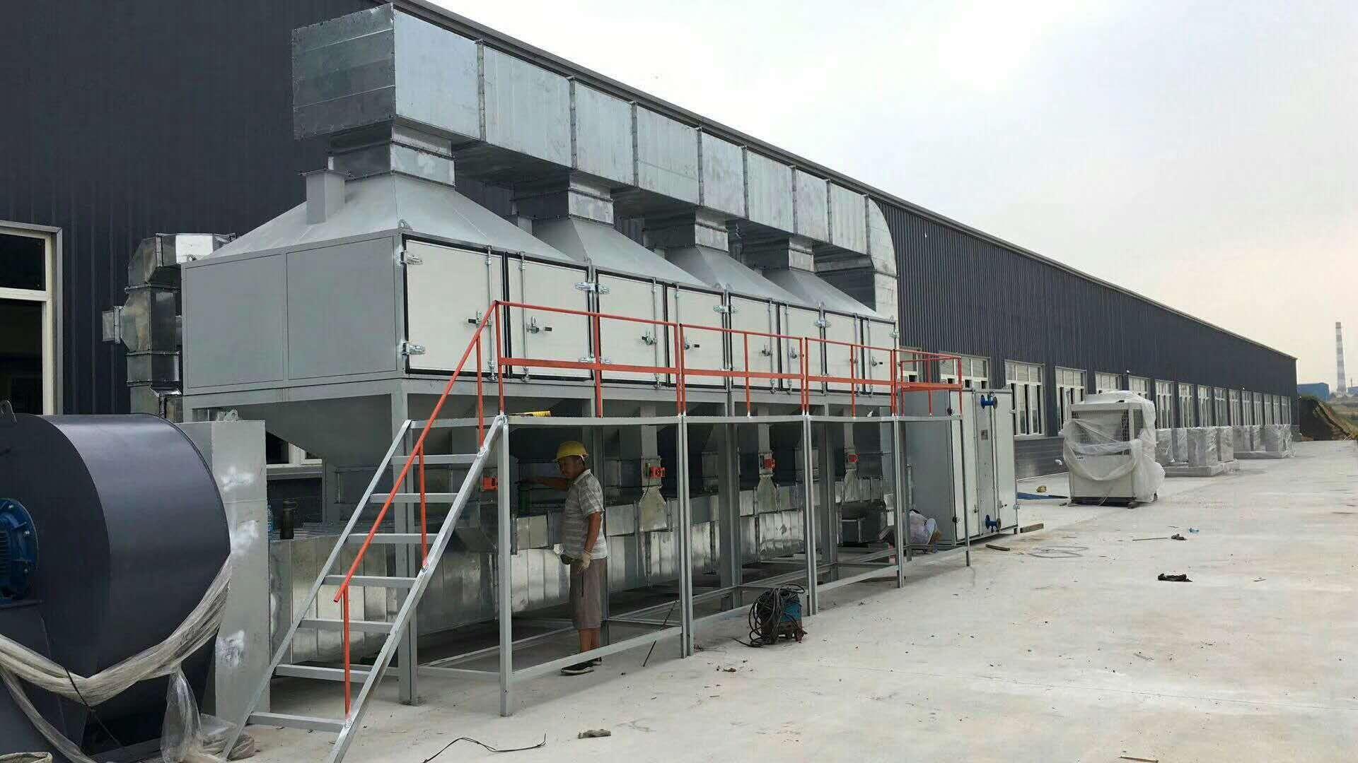 淄博 催化燃燒廢氣處理設備廠家 實驗室廢氣治理 烘幹廢氣淨化