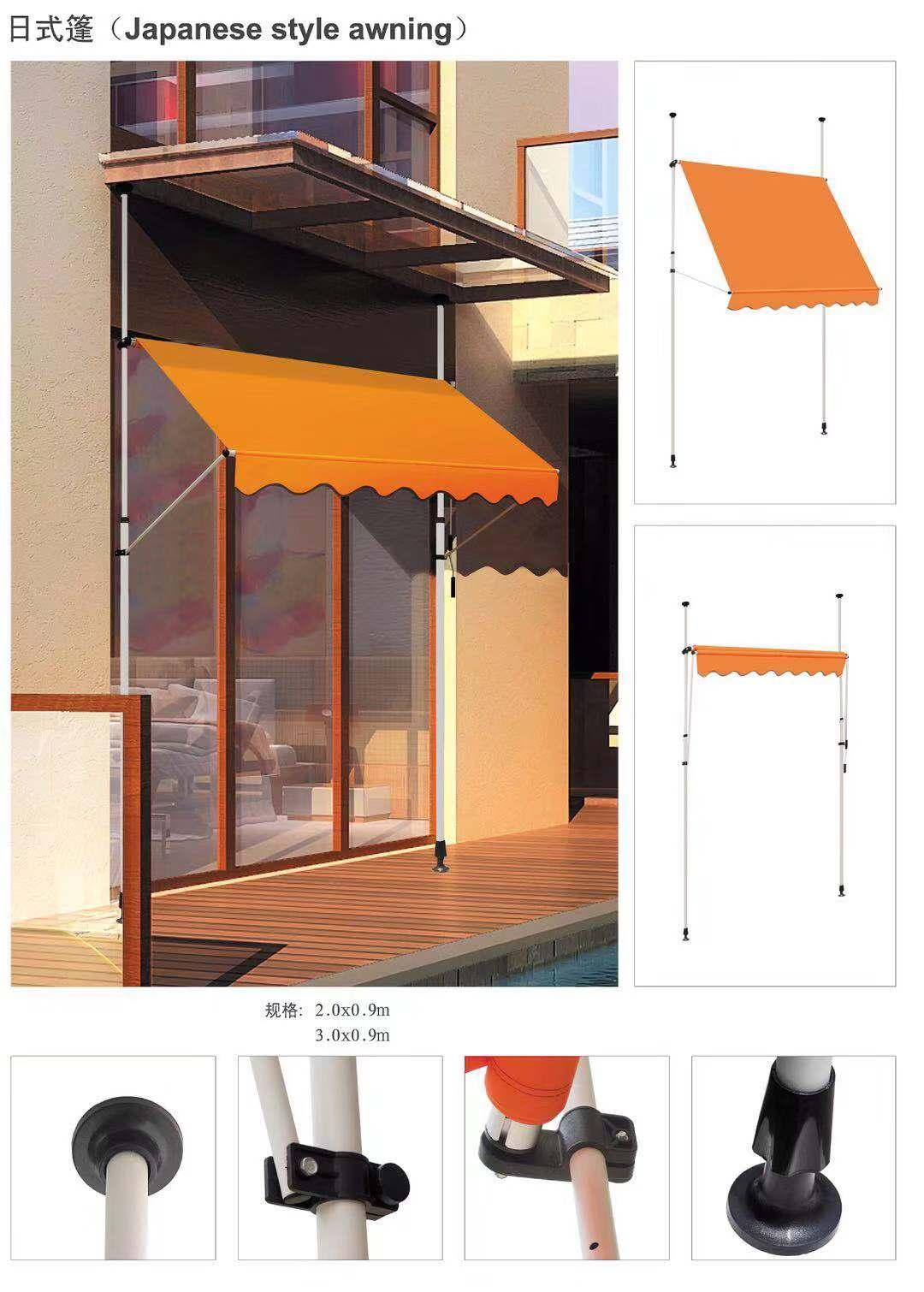 陕西摆臂篷-要买优良的,当选陕西拓成遮阳节能科技_陕西摆臂篷