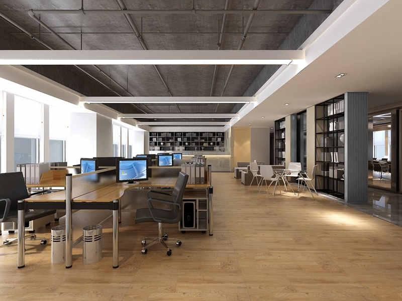 中原办公室装修-口碑好的工装装修当选郑州天景装饰工程