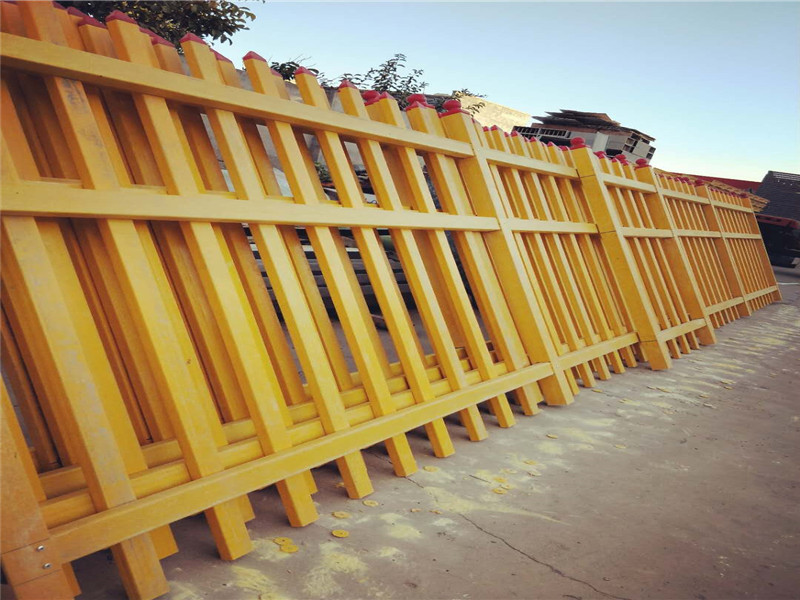 厂家直销伸缩围栏玻璃钢拉挤护栏水池玻璃钢护栏批发价格