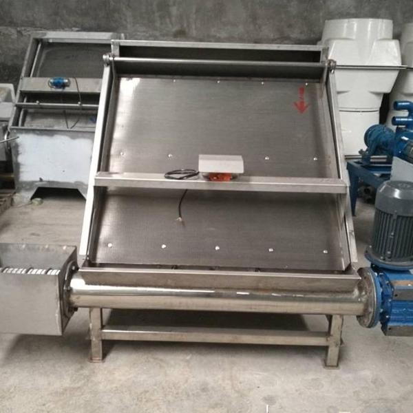 水泡粪沼渣环保处理机