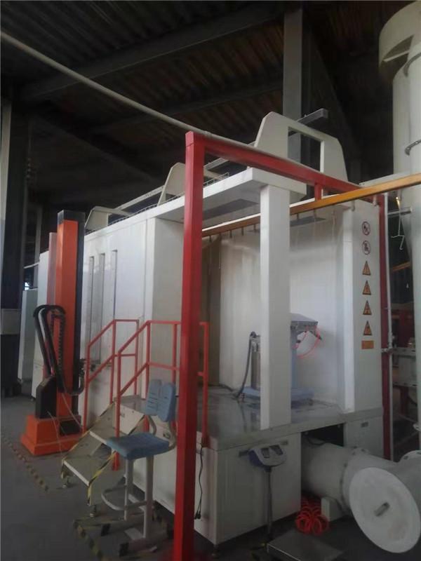 大旋风二级回收喷粉设备