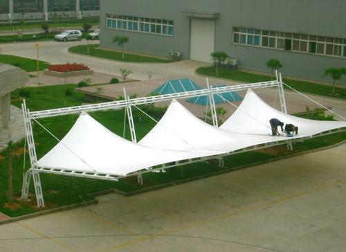 西安膜结构走廊设计厂家-西安膜结构供货商