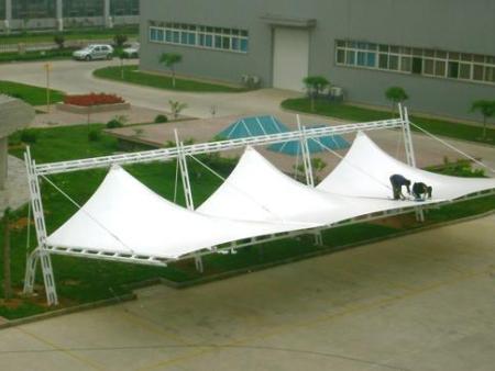 西安膜结构接待大厅-西安鑫宇环知名的西安膜结构销售商