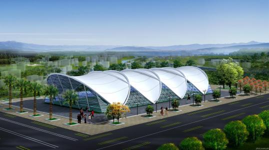 西安膜结构厂家设计价格美丽西安鑫宇环膜结构