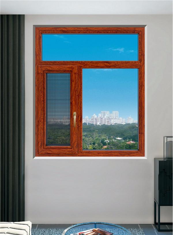 貝迪型材|高性價隔熱平開窗紗一體平頂山釗祥建筑裝飾工程供應