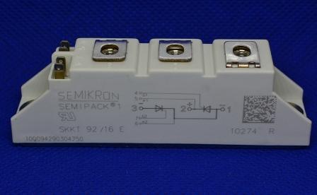 广东质量好的SKKT92/16E 可控硅模块供销|苏州SKKT92/16E 电焊机模块定做