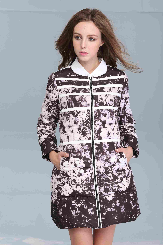 棉服加工定制-供應廣州熱賣品牌棉衣貼牌