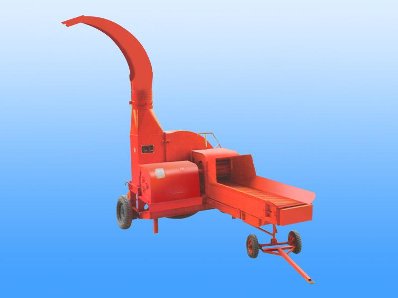 小型全自动进料输送带铡草机