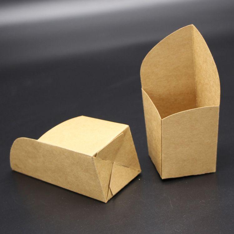 牛皮纸斜口纸杯