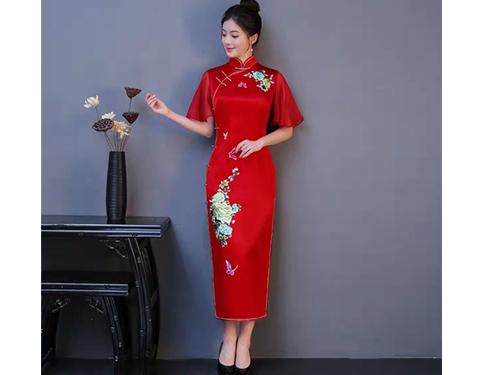 西安旗袍私人定制