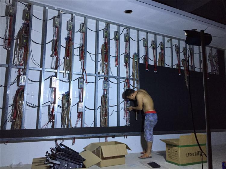 陕西海视博,箱体小间距LED壁挂架,13087685563