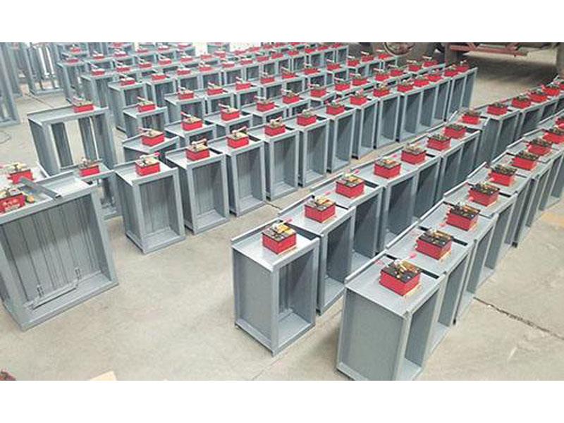 风管加工哪家好-口碑好的兰州3c防火阀供应商_新启源成套设备工程
