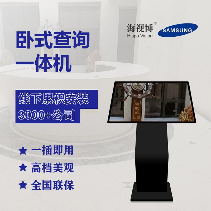 触摸一体机,商场广告专用显示竖式广告机,陕西海视博