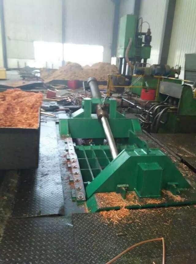 吉利废旧金属回收打包压块机_环新机械直销重型铜销打包机
