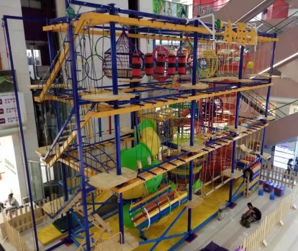 小勇士攀爬乐园-专业为您推荐|许昌儿童攀爬娱乐设施哪家好