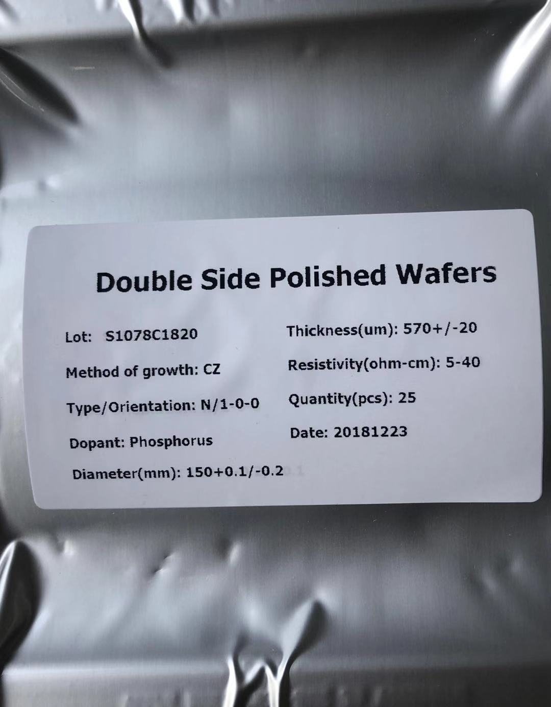 硅片生产厂家|东莞高性价红外传感器滤光片镀膜用硅片厂家推荐