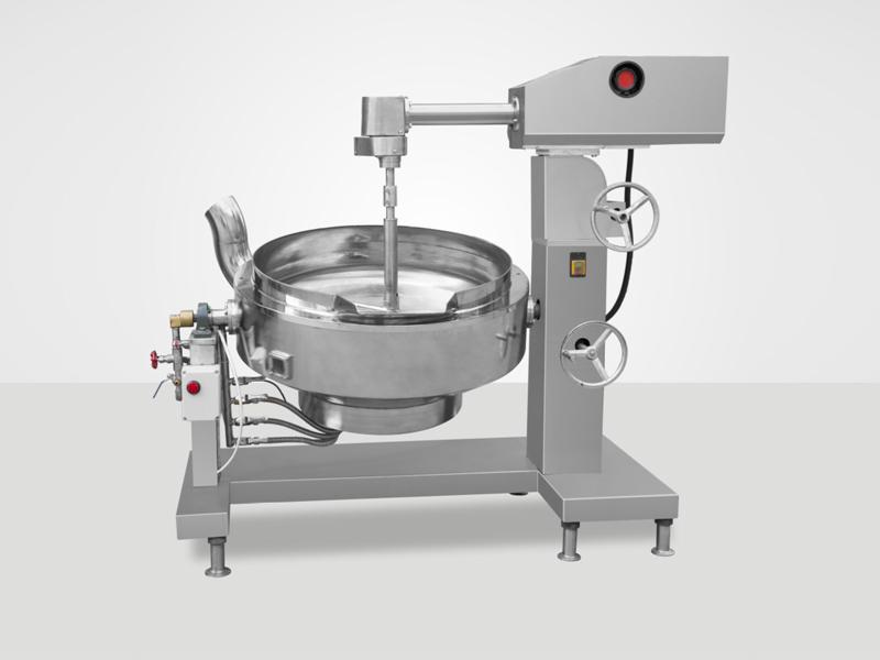半自动炒锅厂家-专业的食品搅拌加工炒锅报价
