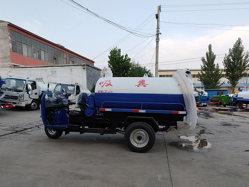 河南三輪吸糞車-菏澤哪里有供應口碑好的三輪吸糞車