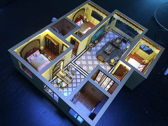 户型模型尺寸-沈阳创佳模型设计公司_专业的户型模型公司