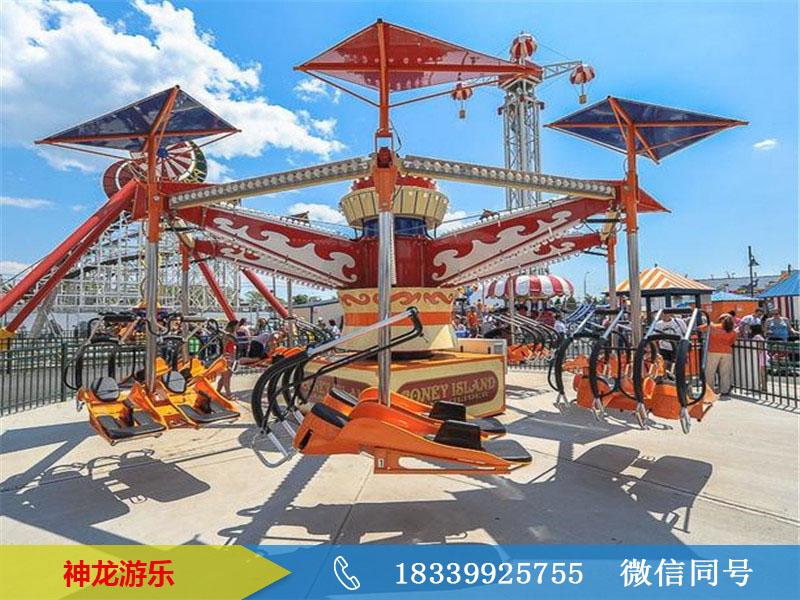 风筝飞行_公园游乐设备风筝飞行_神龙游乐制造生产