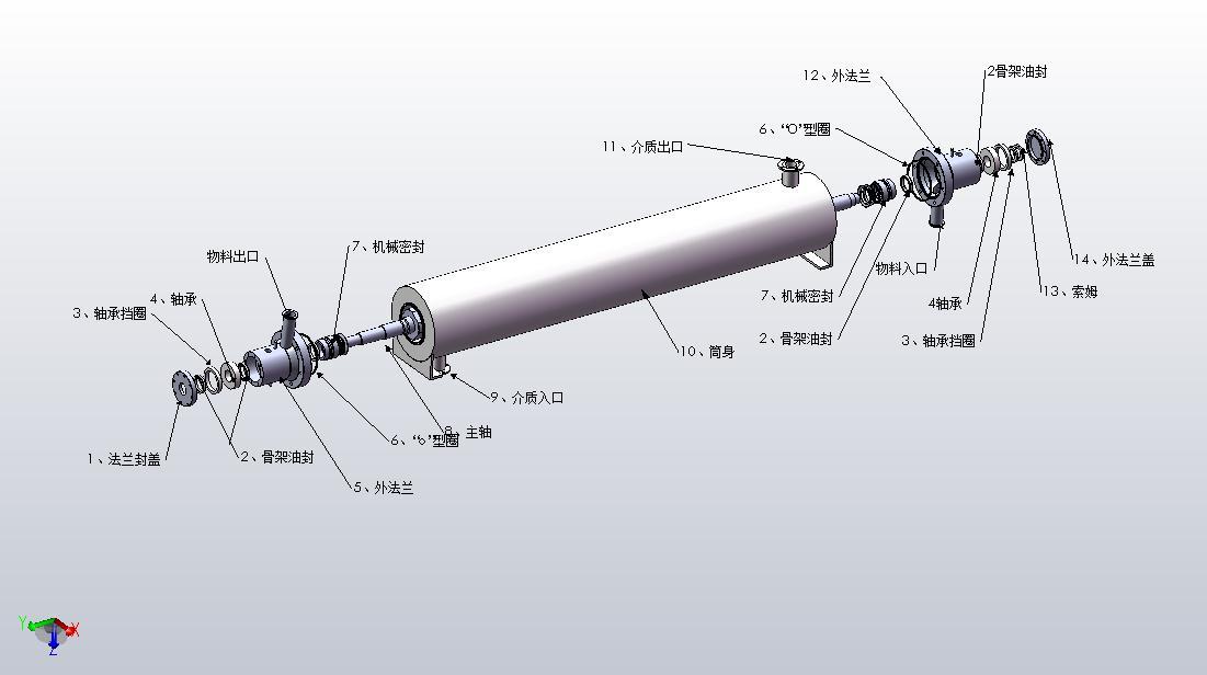 肇慶刮板式熱交換機|供應廣東價格合理的刮板式換熱器
