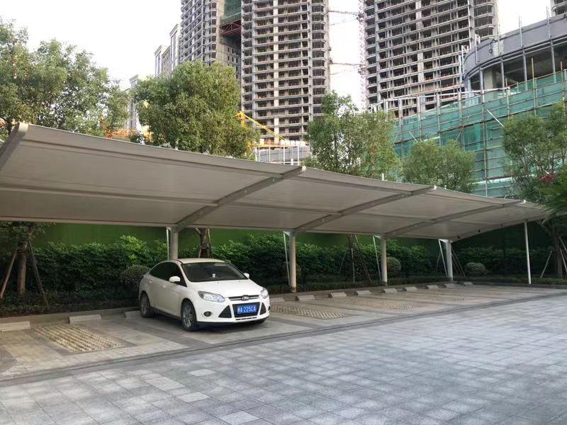 停车棚定做-哪里能买到划算的福州膜结构车棚