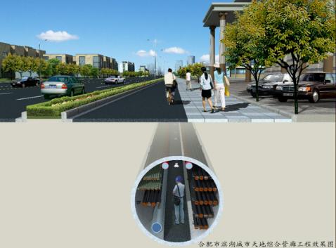 城市地下綜合管廊