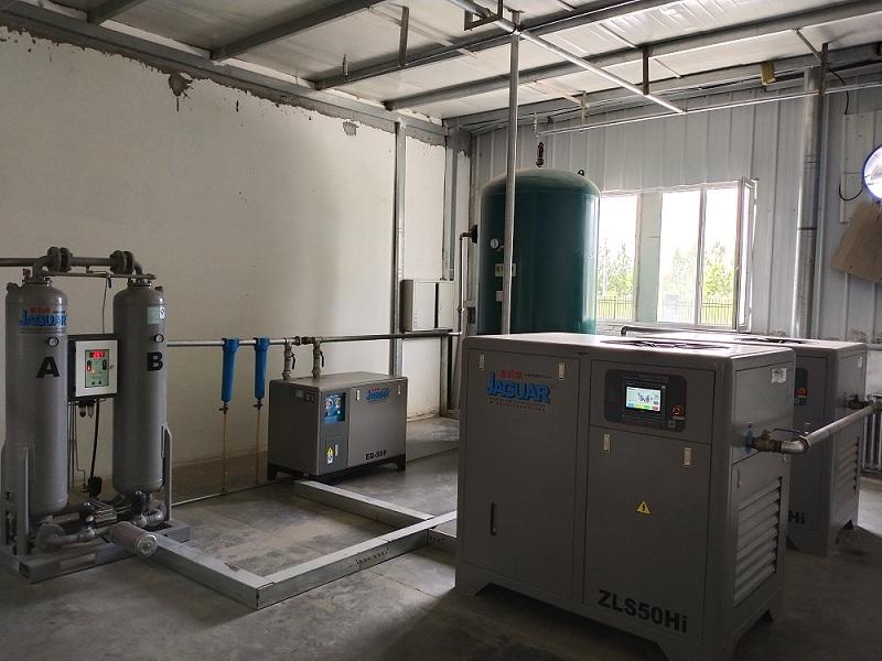 易得恒利贸易专业的新疆台湾捷豹空压机出售 阿克苏稳健空压机