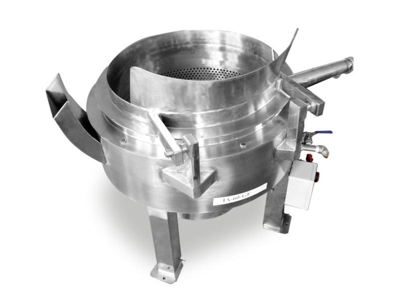 全自动油炸锅圆形油炸机