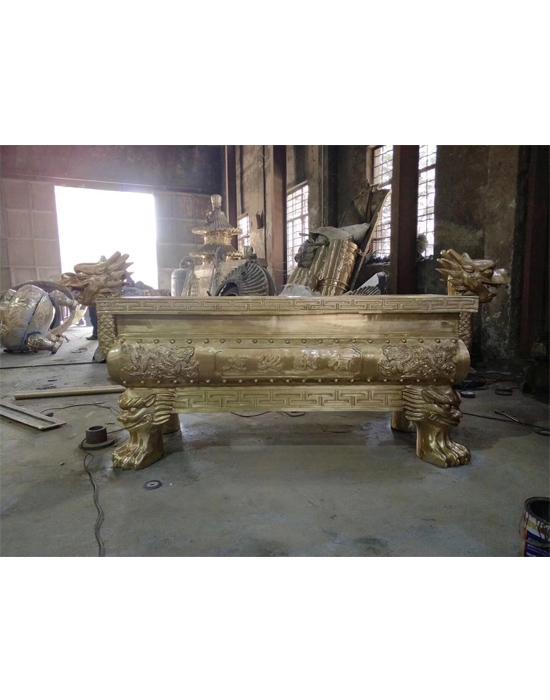 铜香炉生产厂,祠堂大香炉定制,铸铜香炉图片