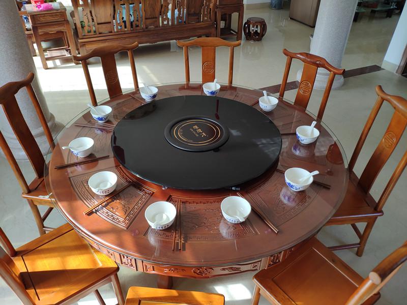 九江电磁炉自动转盘-具有良好口碑的电动电磁炉餐桌转盘推荐
