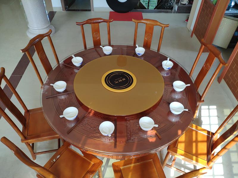 景德鎮電磁爐自動轉盤-優惠的電動電磁爐餐桌轉盤昕昕科技供應