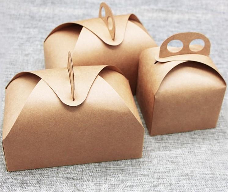 手提西点包装盒