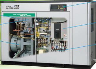 物超所值的无油式螺杆压缩机-东莞口碑好的无油式螺杆压缩机批售
