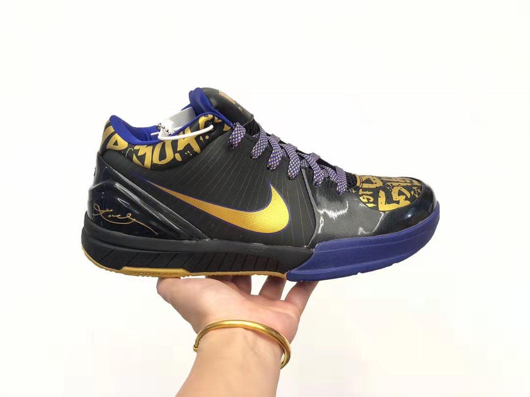 雙11特價耐克科比四代運動籃球鞋廠家一手貨源免一件代發