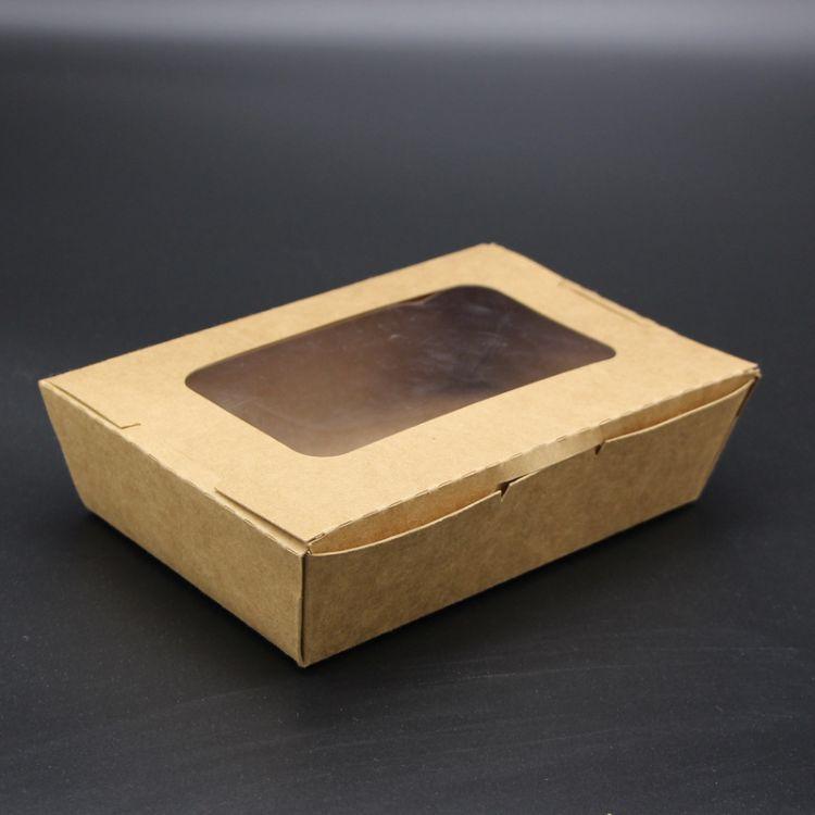 透明贴窗打包盒