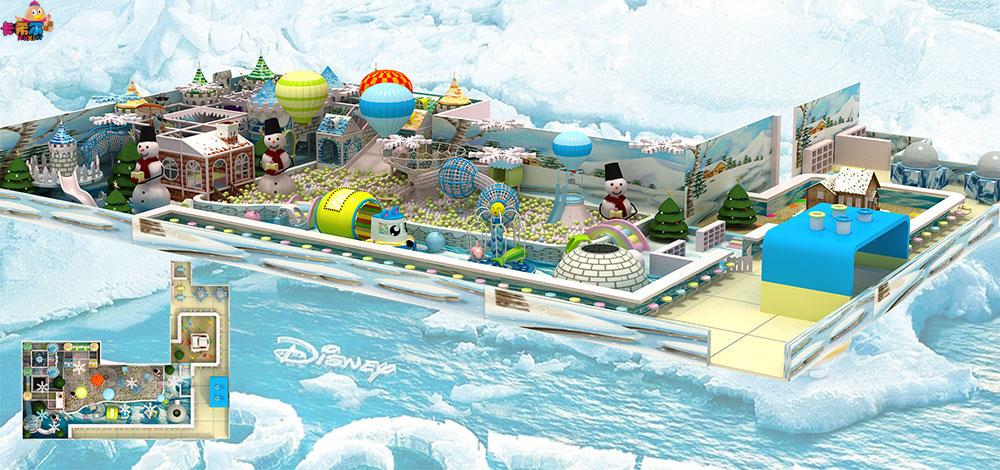 冰雪系列儿童乐园室内儿童淘气堡