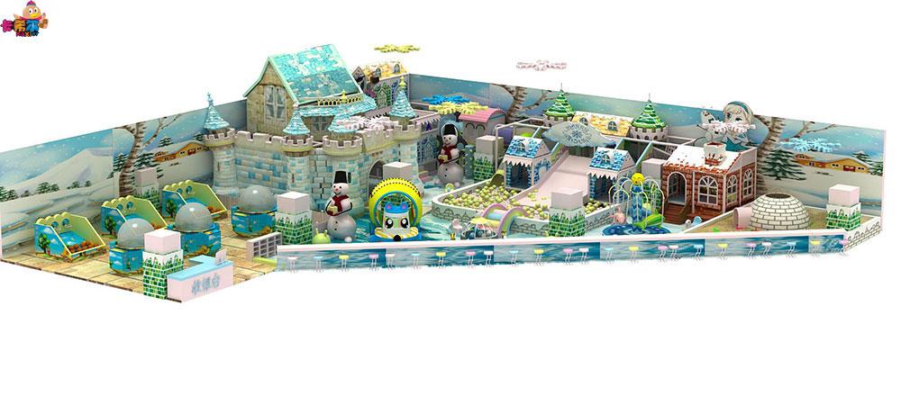 受欢迎的儿童室内淘气堡加盟-靠谱的卡希尔冰雪系列淘气堡供应商