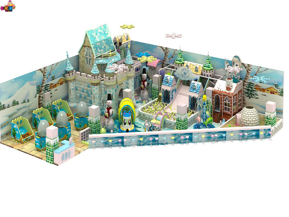 选购卡希尔冰雪系列淘气堡就找卡希尔游乐设备_同城的儿童室内淘气堡游乐园加盟